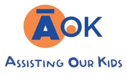 AOK Logo, Assiting Our Kids